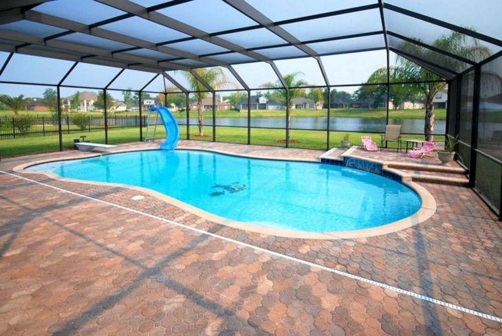 Screened Pool Patio Ideas 13