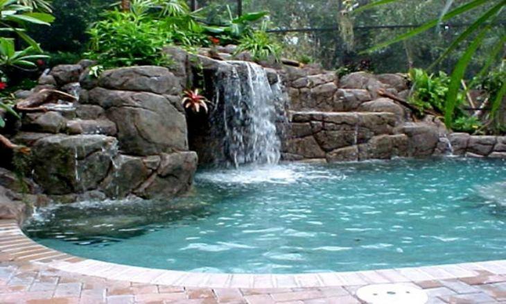 Simple Backyard Waterfall Design 5