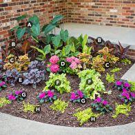 Small Perennial Garden Designs 1