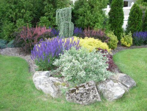 Small Perennial Garden Designs 11