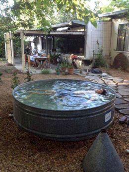 Stock Tank Swimming Pool Design 20