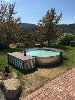 Stock Tank Swimming Pool Design 25