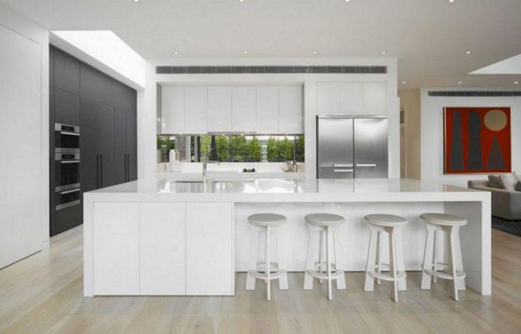 White Modern Kitchen Design 11