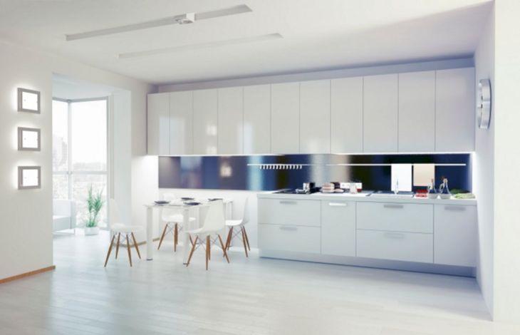 White Modern Kitchen Design 19