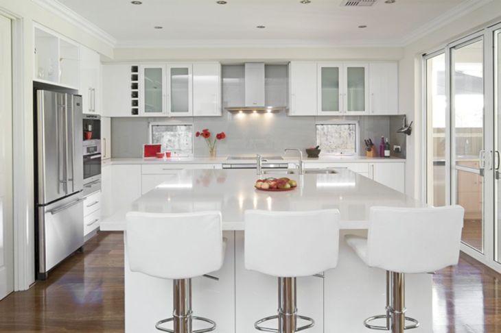 White Modern Kitchen Design 20