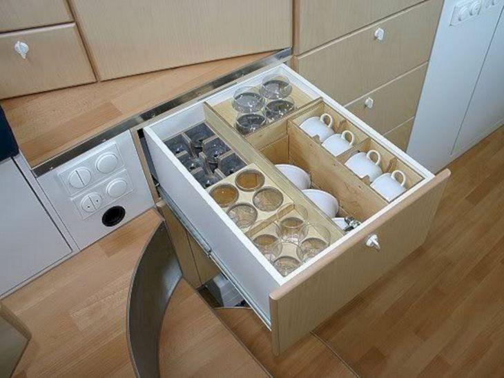 Camper Kitchen Organization Ideas 19
