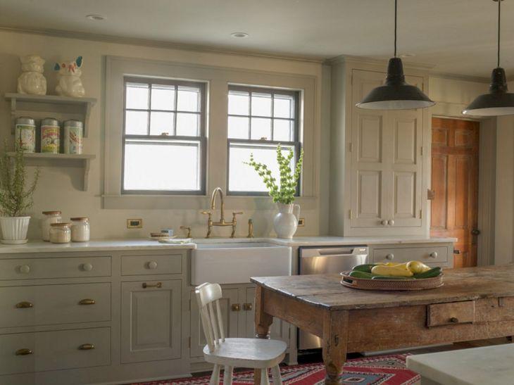 Farmhouse Kitchen Cabinet 8