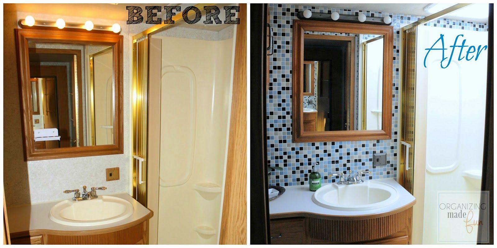RV Bathroom Remodel Ideas 12