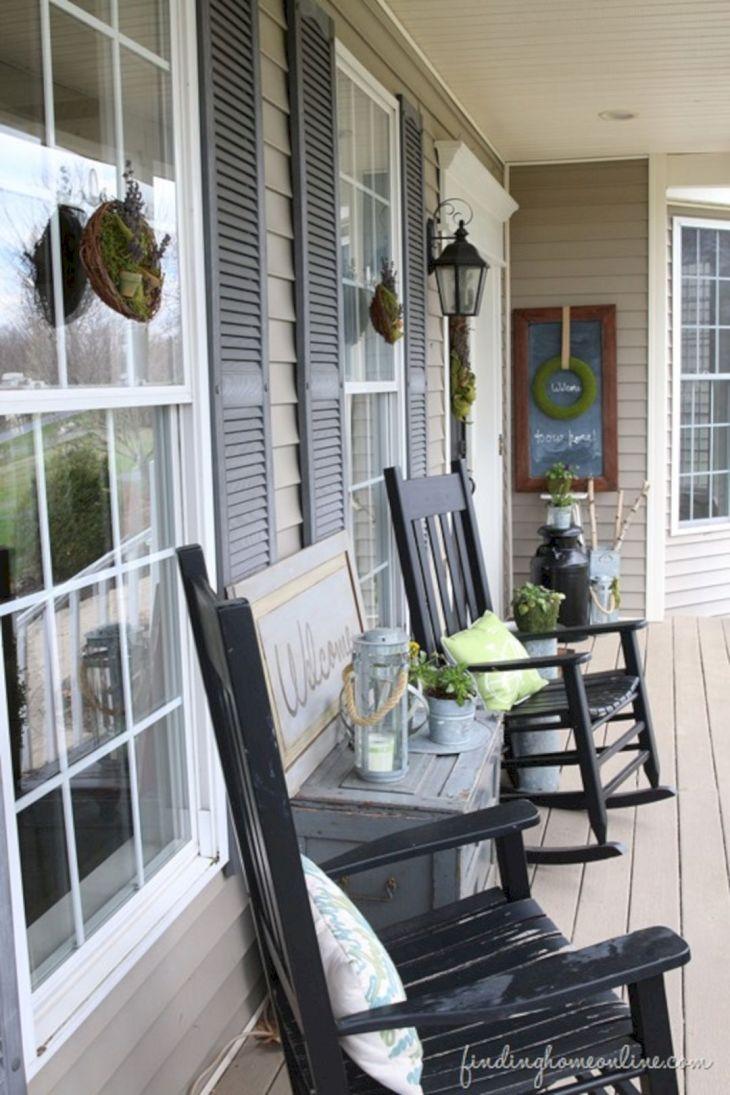 Summer Front Porch Decoration 15