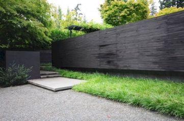 Black Garden Fences Design 17