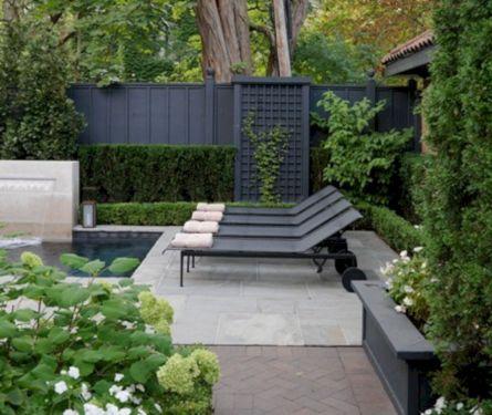 Black Garden Fences Design 18