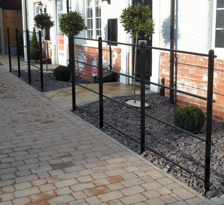 Black Garden Fences Design 4