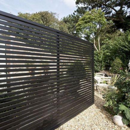 Black Garden Fences Design 5