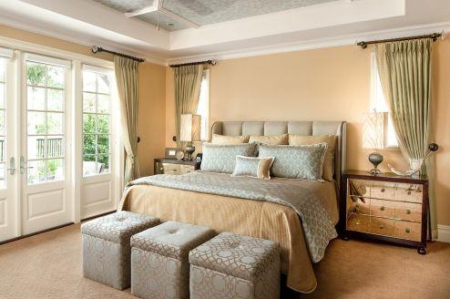 Master Bed Size Design 1