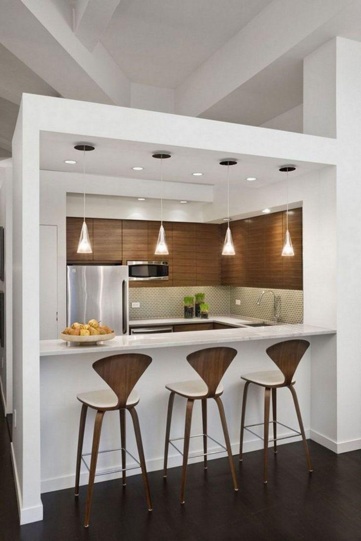 Modern Kitchen Bar Design 15