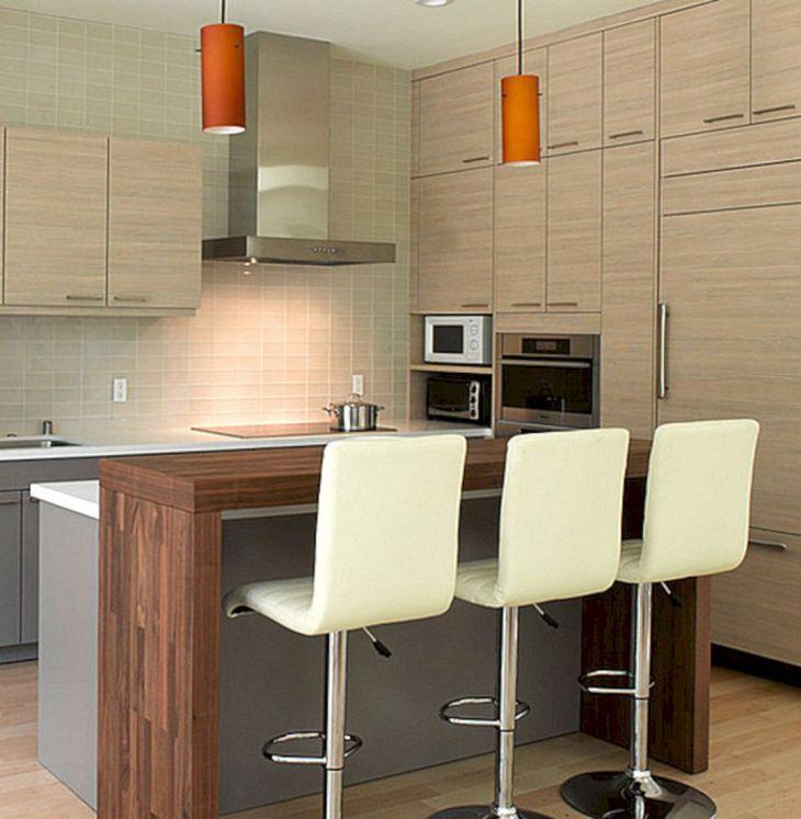 Modern Kitchen Bar Design 21
