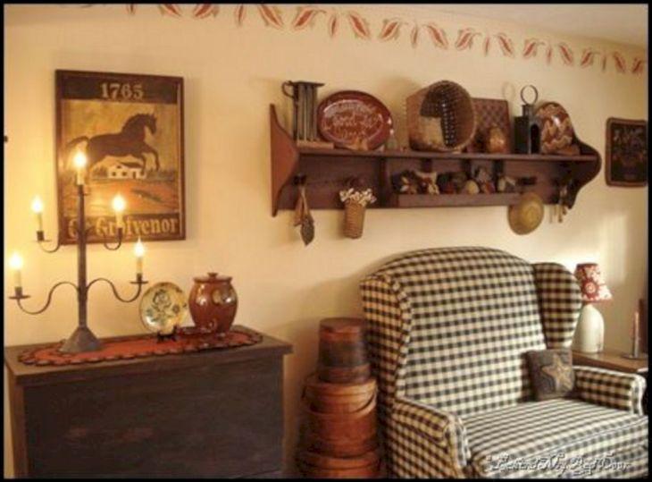 mesmerizing primitive living room decorating | Unique 10 Best Primitive Living Room Wall Decor Ideas ...