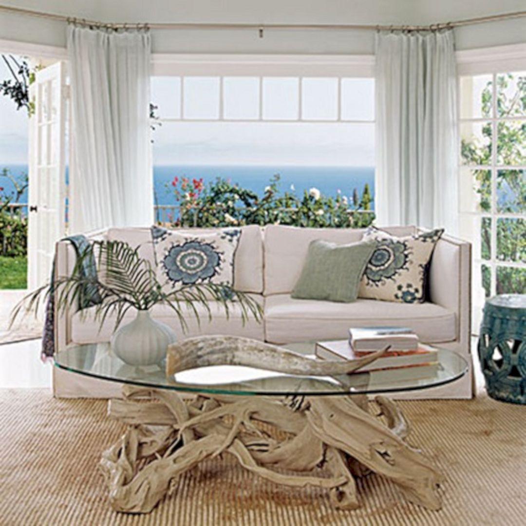 Living Room Beach Decor 23