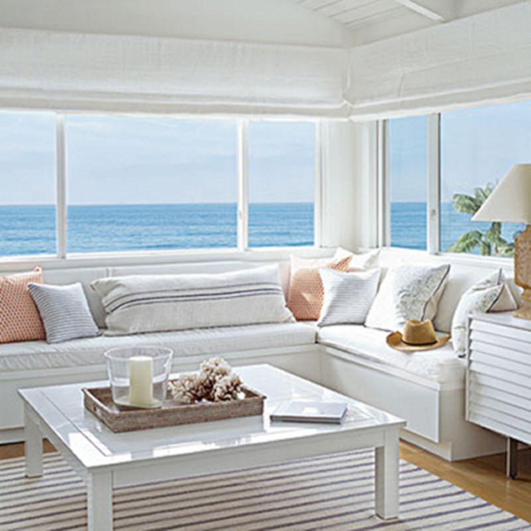 Living Room Beach Decor 26