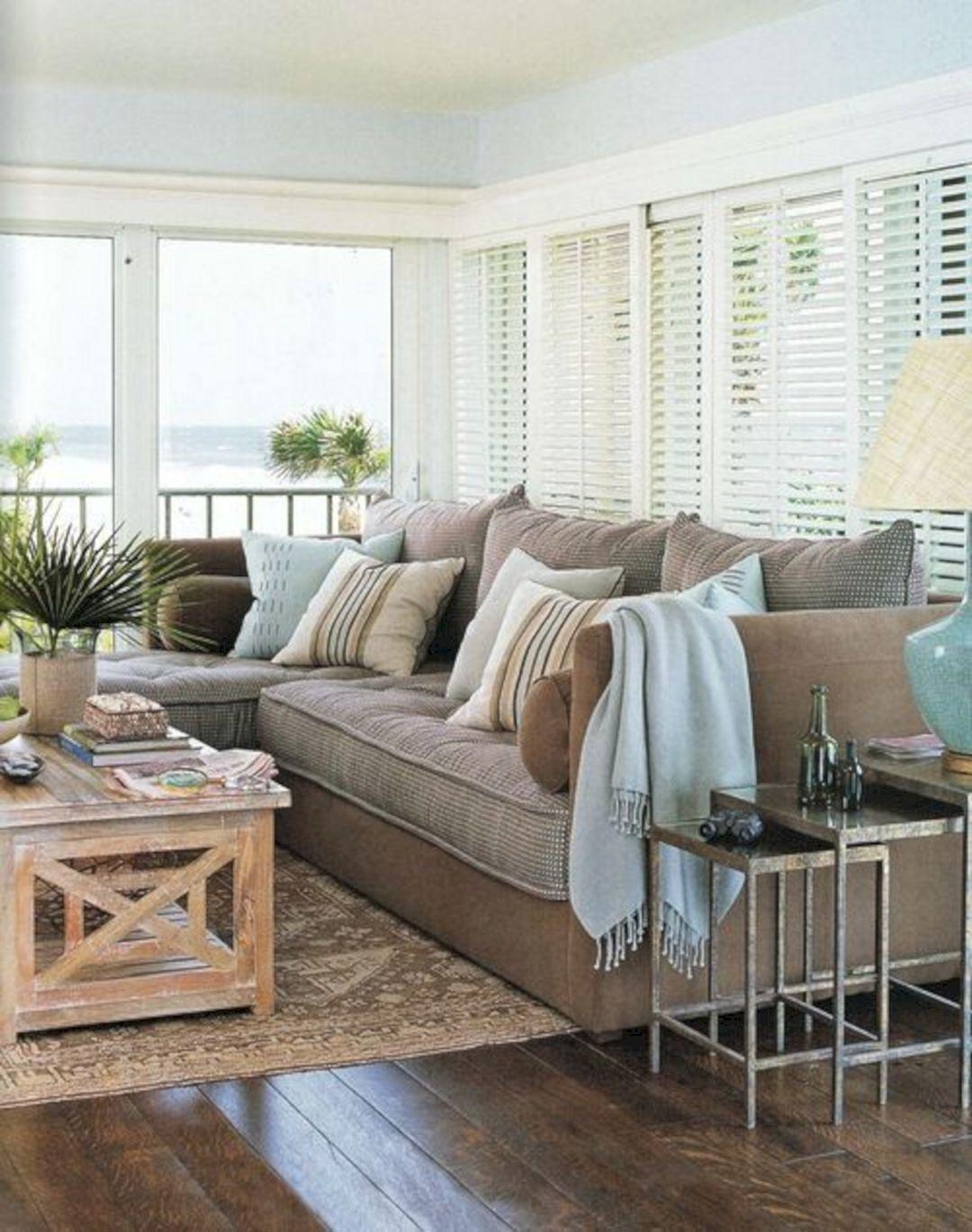 Living Room Beach Decor 30