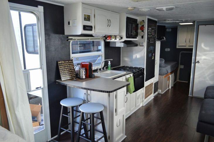 RV Kitchen Renovation Camper Design