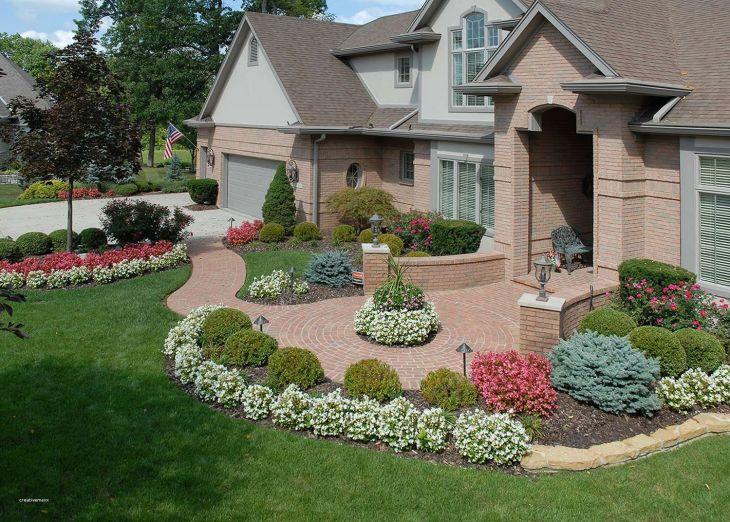 Front Yard Flower Garden Design 23