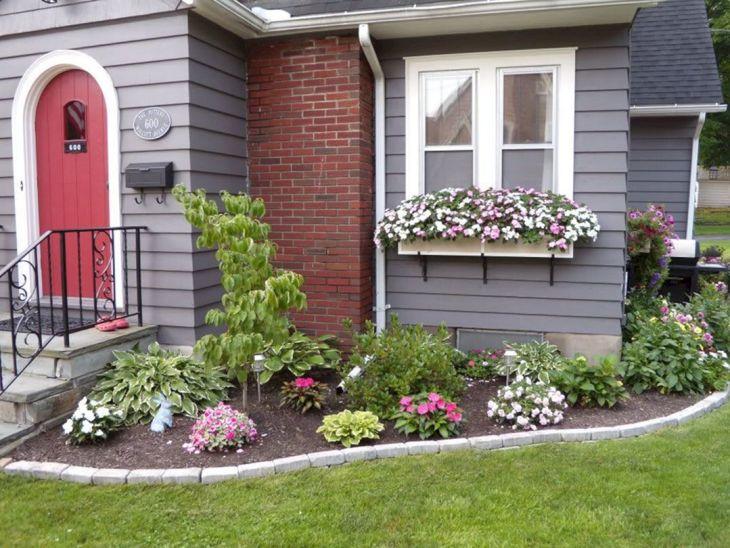 Front Yard Flower Garden Design 26