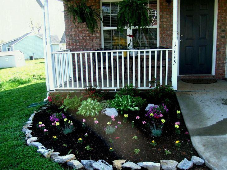 Front Yard Flower Garden Design 7