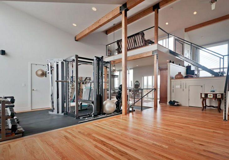 Home Gym Design Ideas 22