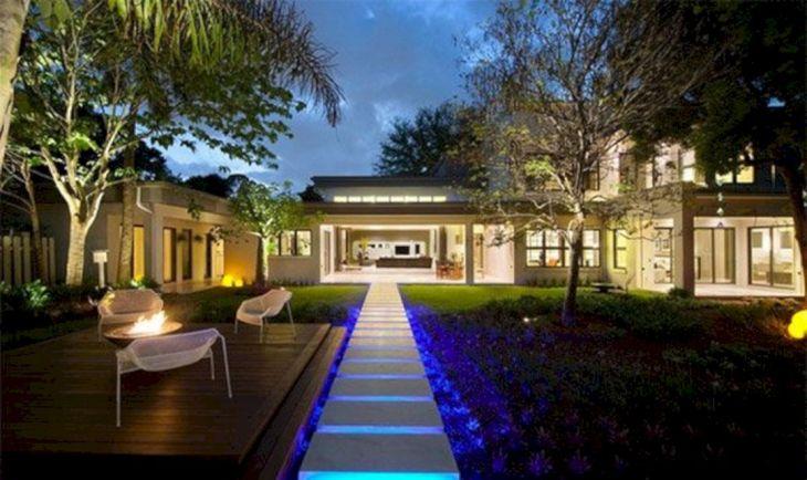 Inspirational Garden Lighting Design 41