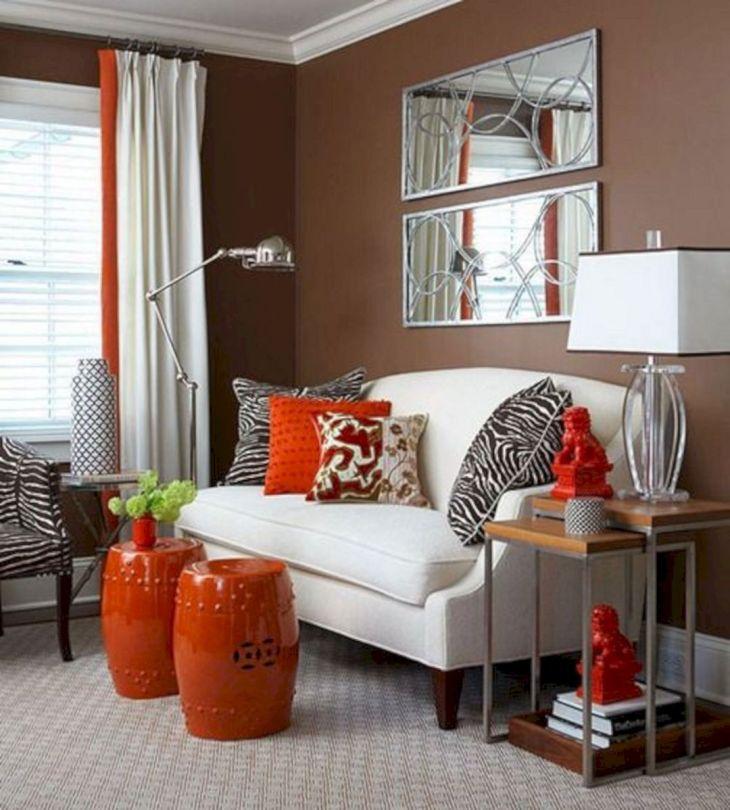 Living Room Fall Decor Ideas 28