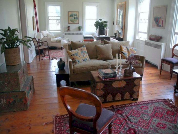 Living Room Farmhouse Decoration Ideas 114