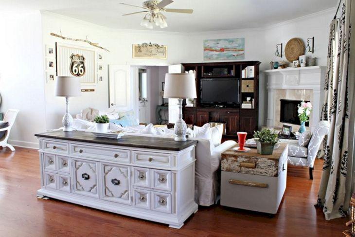 Living Room Farmhouse Decoration Ideas 120