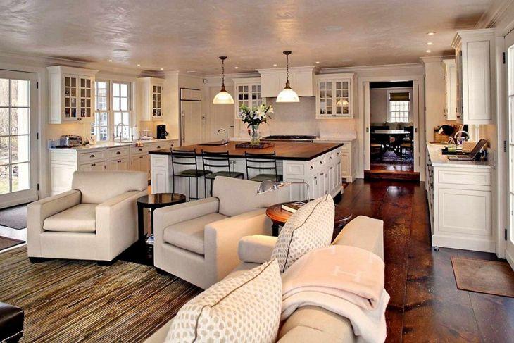 Living Room Farmhouse Decoration Ideas 122