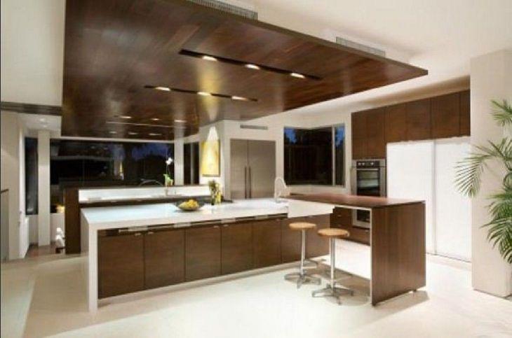 Modern Kitchen Ceiling Design Ideas 9