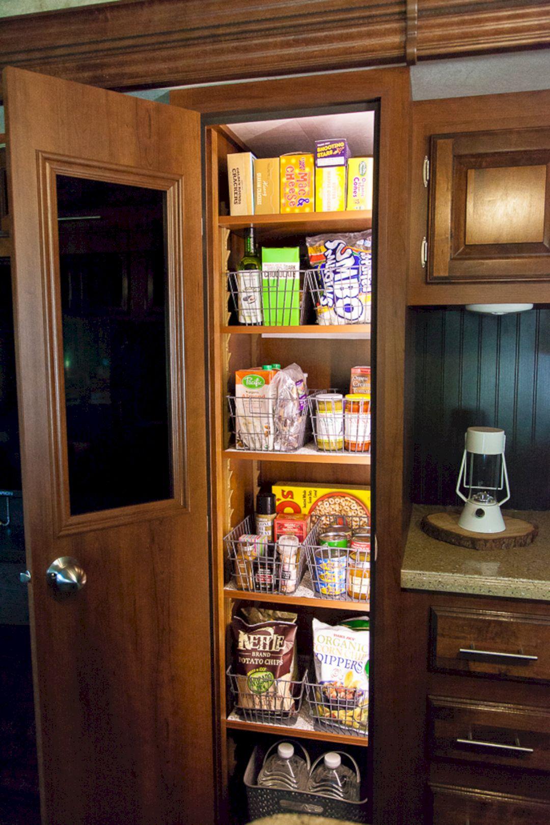 RV Kitchen Storage Design Ideas 13