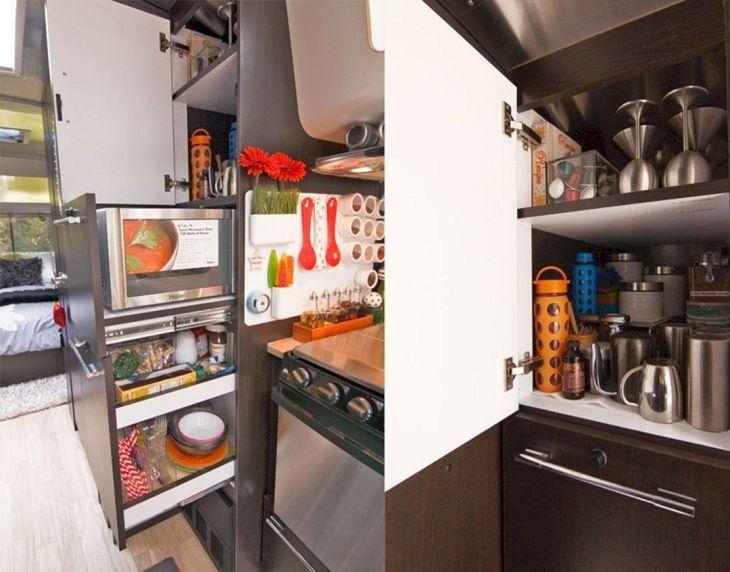 RV Kitchen Storage Design Ideas 21