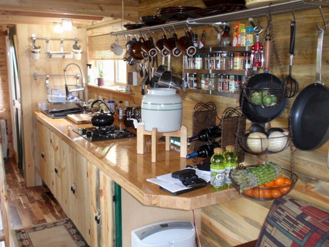 RV Kitchen Storage Design Ideas 23 – DECOREDO