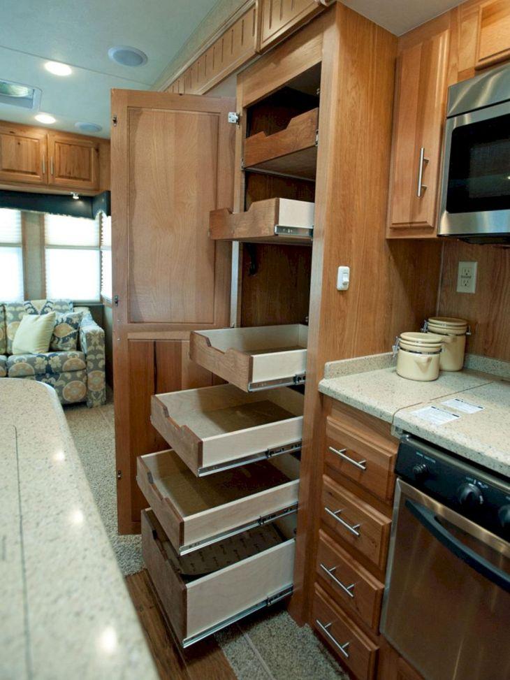 RV Kitchen Storage Design Ideas 24