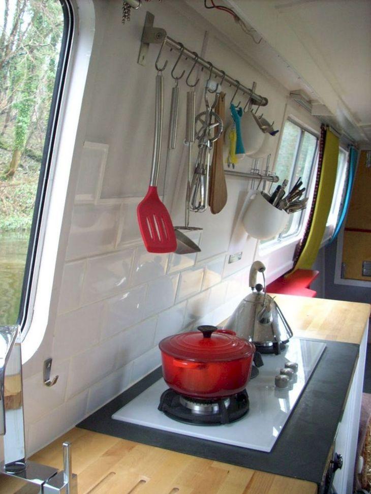 RV Kitchen Storage Design Ideas 26