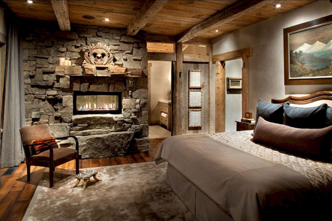 Rustic bedroom peace design master bedroom