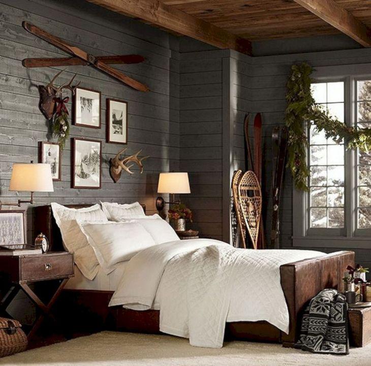 Wood Plank Walls Bedroom Ideas