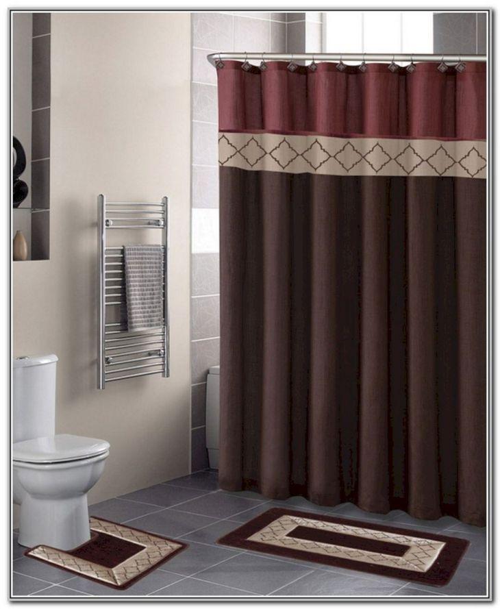 Bathroom Shower With Curtain 013