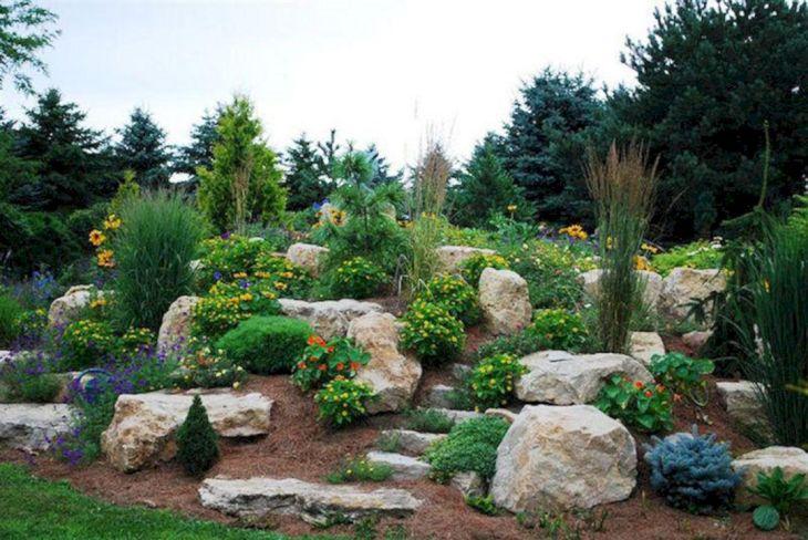 Beautiful Rock Garden 160