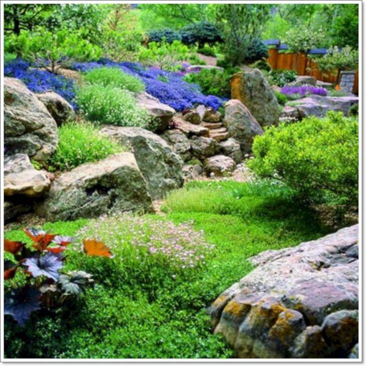 Beautiful Rock Garden 30
