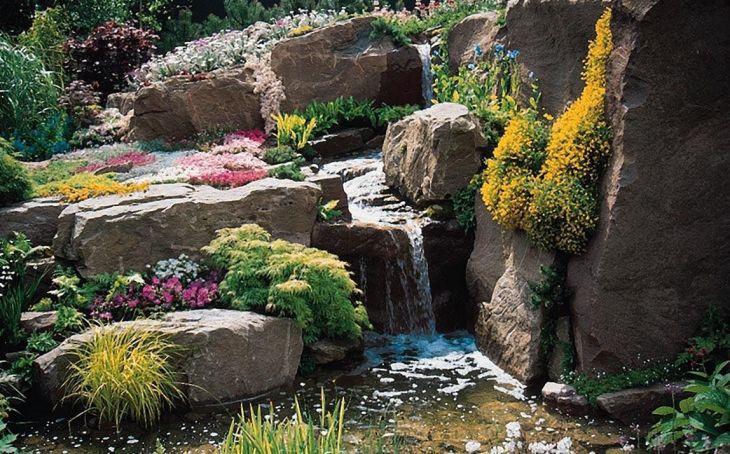 Beautiful Rock Garden 80