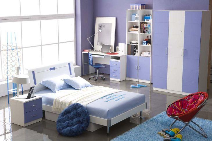 Blue Girls Bedroom Ideas 023