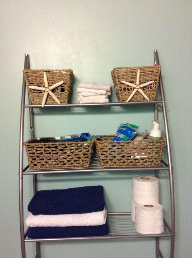 Coastal Bathroom Decor 46