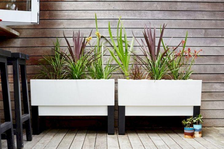 Contemporary Outdoor Planters Ideas 15