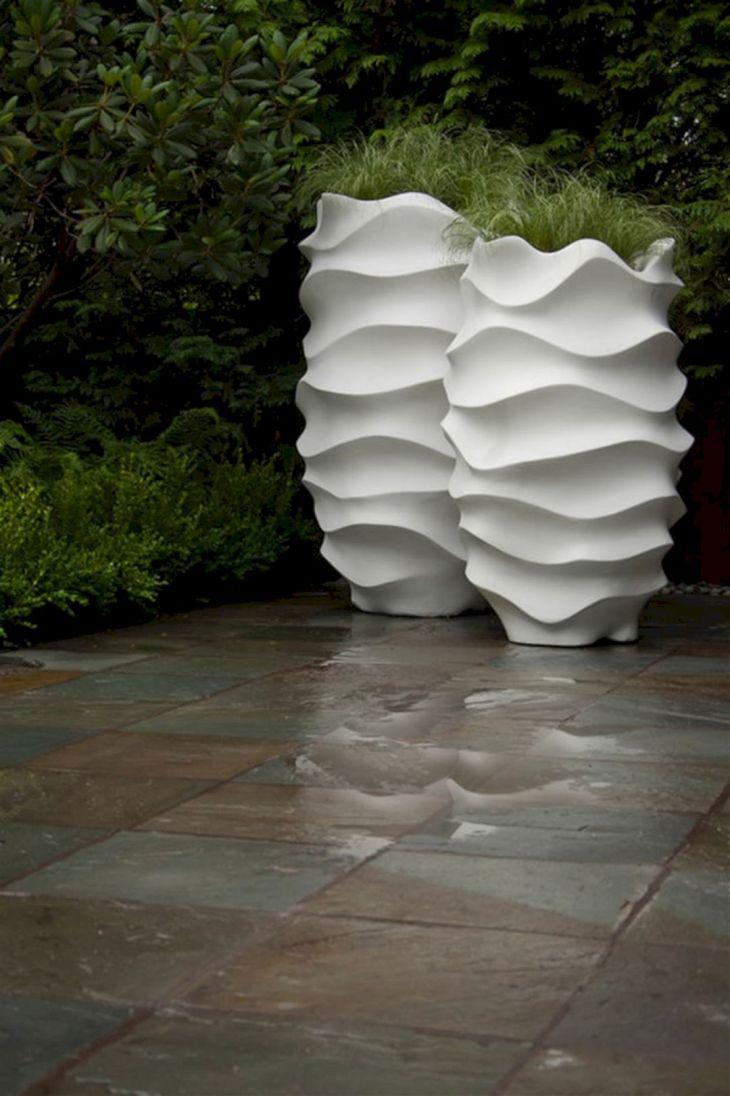 Contemporary Outdoor Planters Ideas 27